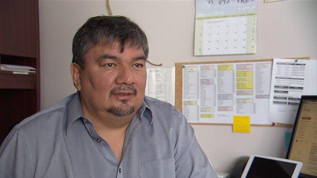 Jean-Roch Ottawa, chef de Manawan. Photo : Charles Dagenais