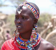 massaï aborigène afrique autochtone liberté belle femme