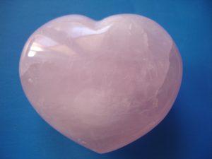 quartz rose coeur